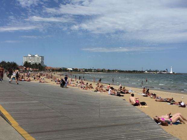santa kilda beach