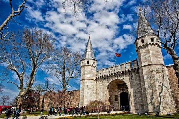 Palácio-Topkapi-em-Istambul